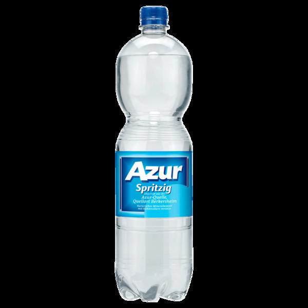 Azur Mineralwasser Spritzig 1,5l