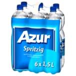 Azur Mineralwasser Spritzig 6x1,5l