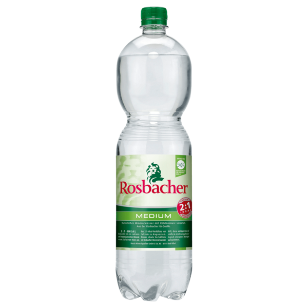 Rosbacher Medium 1,5l