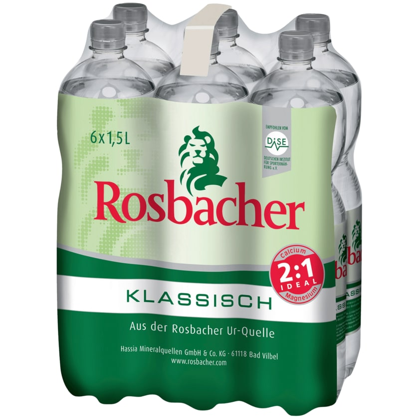 Rosbacher Klassisch 6x1,5l
