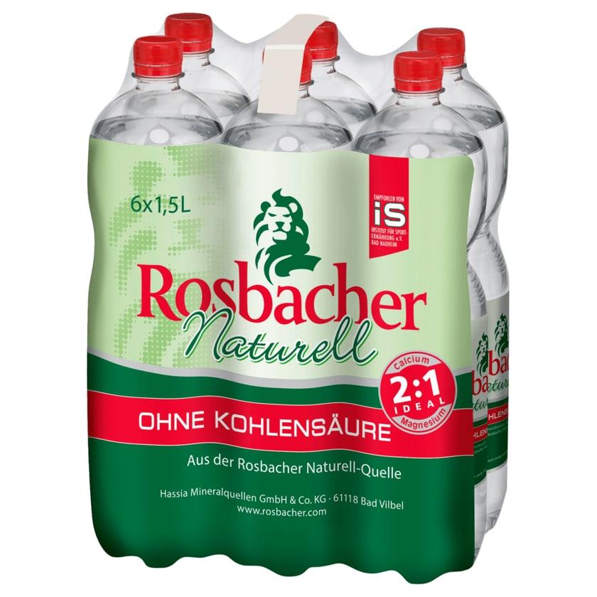 Rosbacher Naturell 6x1,5l