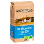 Heimatsmühle Bio Weizenmehl Type 550 1kg