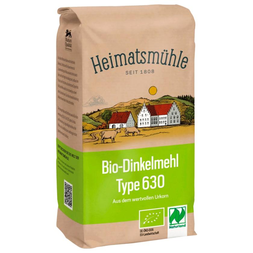 Heimatsmühle Bio-Dinkelmehl Type 630 1kg