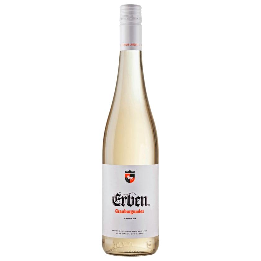 Erben Weißwein Grauburgunder trocken 0,75l