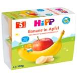 Hipp Frucht-Pause Bio Banane in Apfel 4x100g