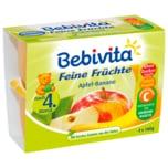 Bebivita Feine Früchte Apfel-Banane 4x100g