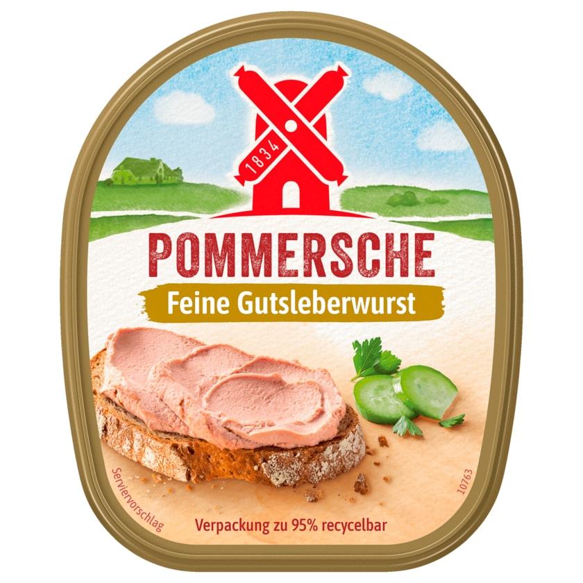 Rügenwalder Mühle Pommersche Gutsleberwurst fein 125g