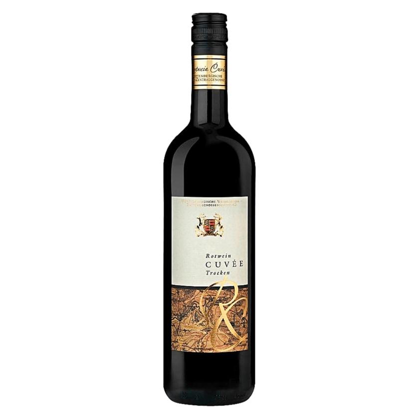 Württemberg Rotwein Cuvée QbA trocken 0,75l