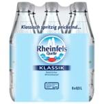 Rheinfels Quelle Mineralwasser Klassik 6X0,5l