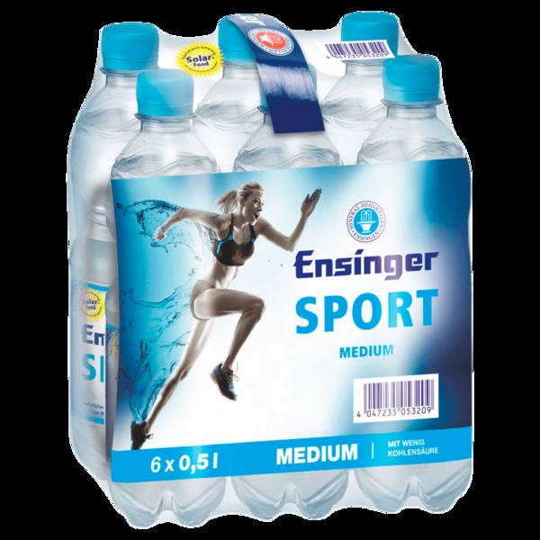 Ensinger Sport Mineralwasser Medium 6x0,5l