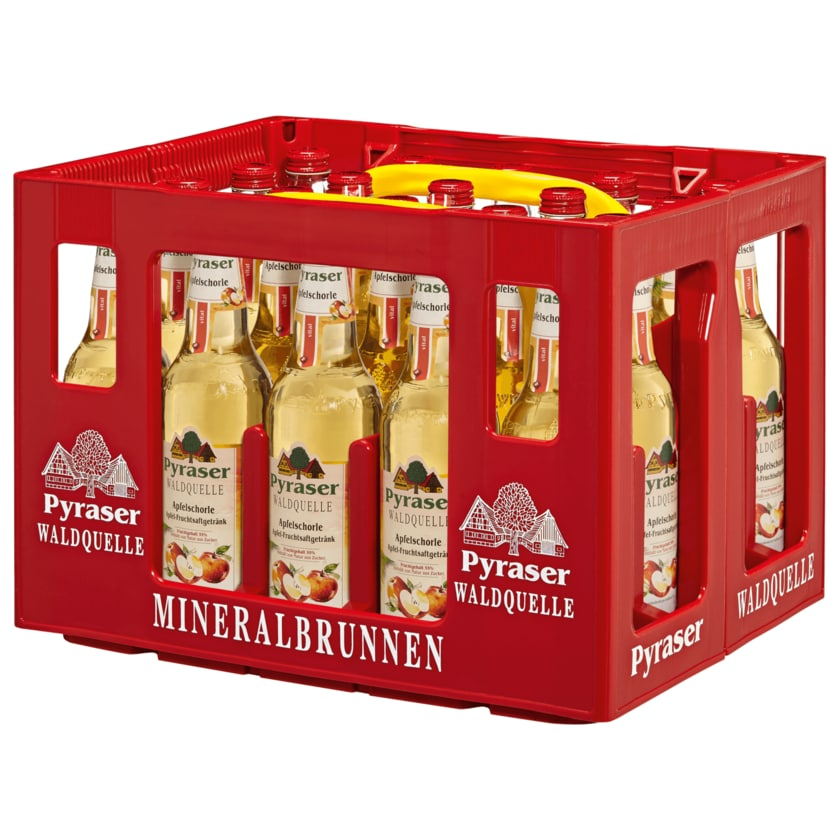 Pyraser Apfelschorle Waldquelle 20x0,5l