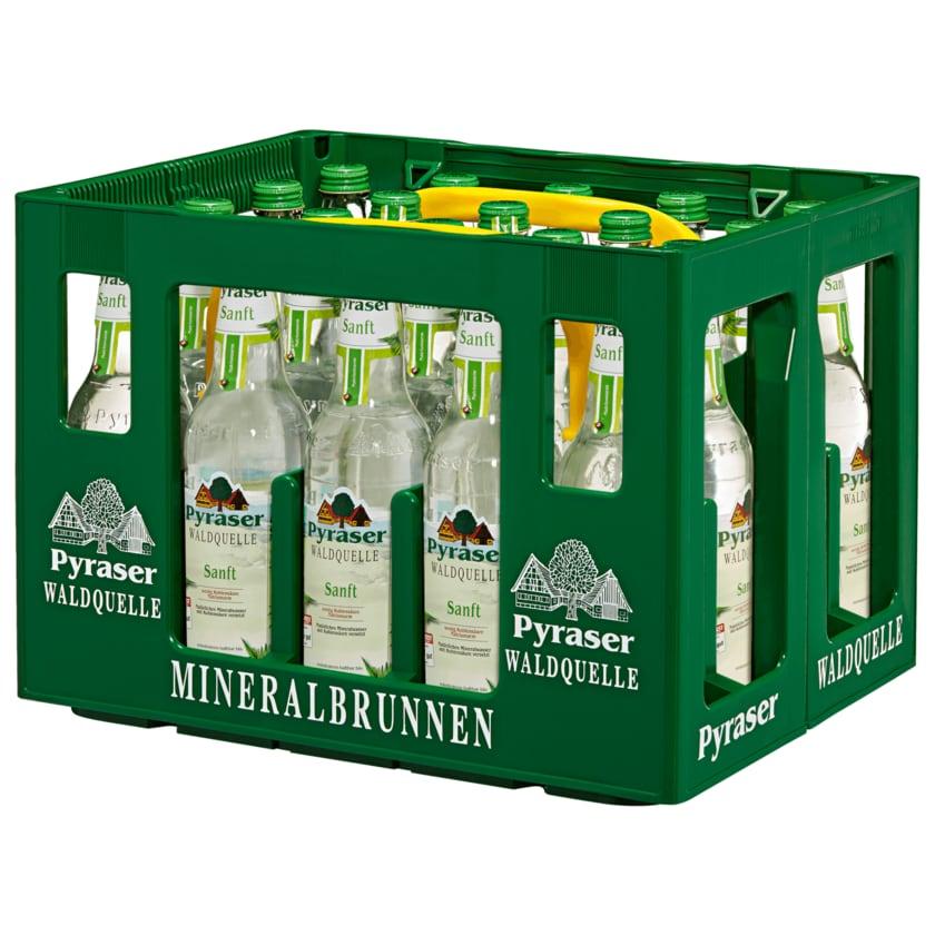 Pyraser Waldquelle Mineralwasser Sanft 20x0,5l