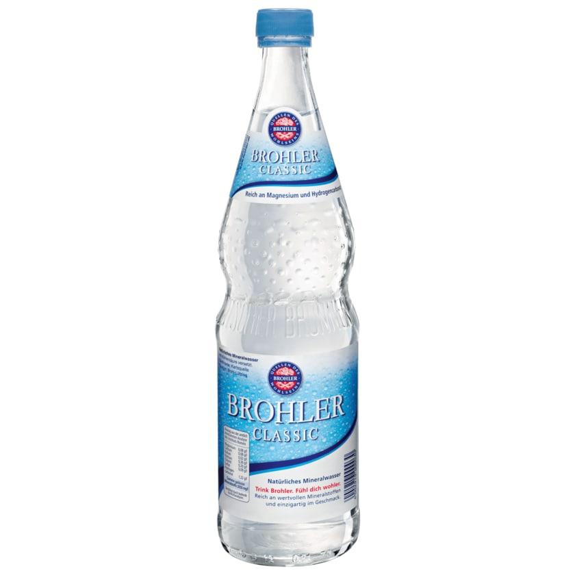 Brohler Mineralwasser Classic 0,75l