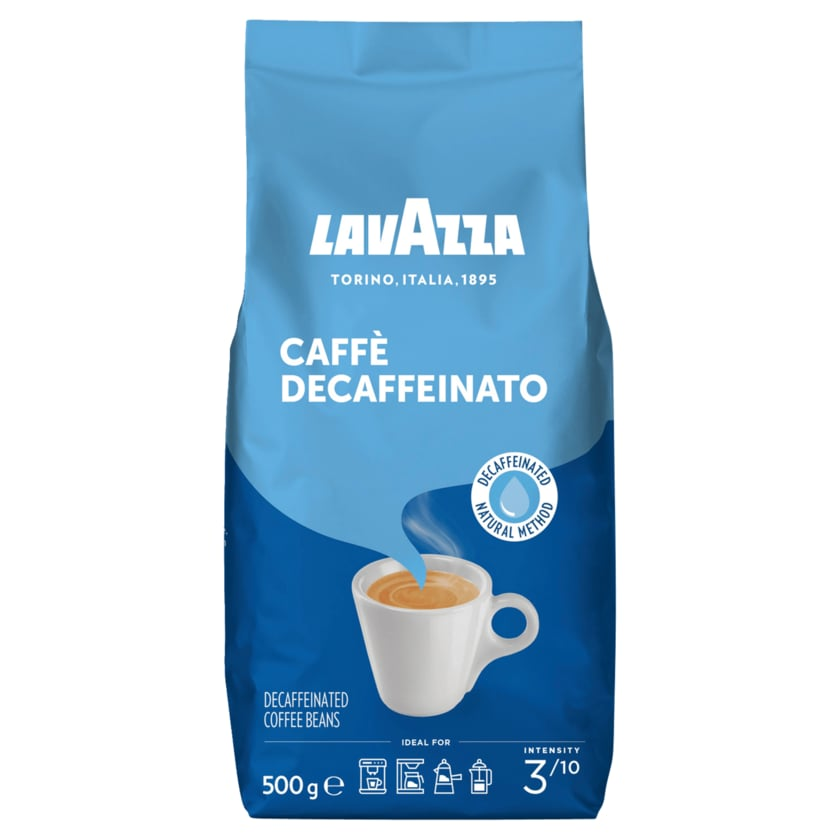 Lavazza Caffè Crema Decaffeinato 500g