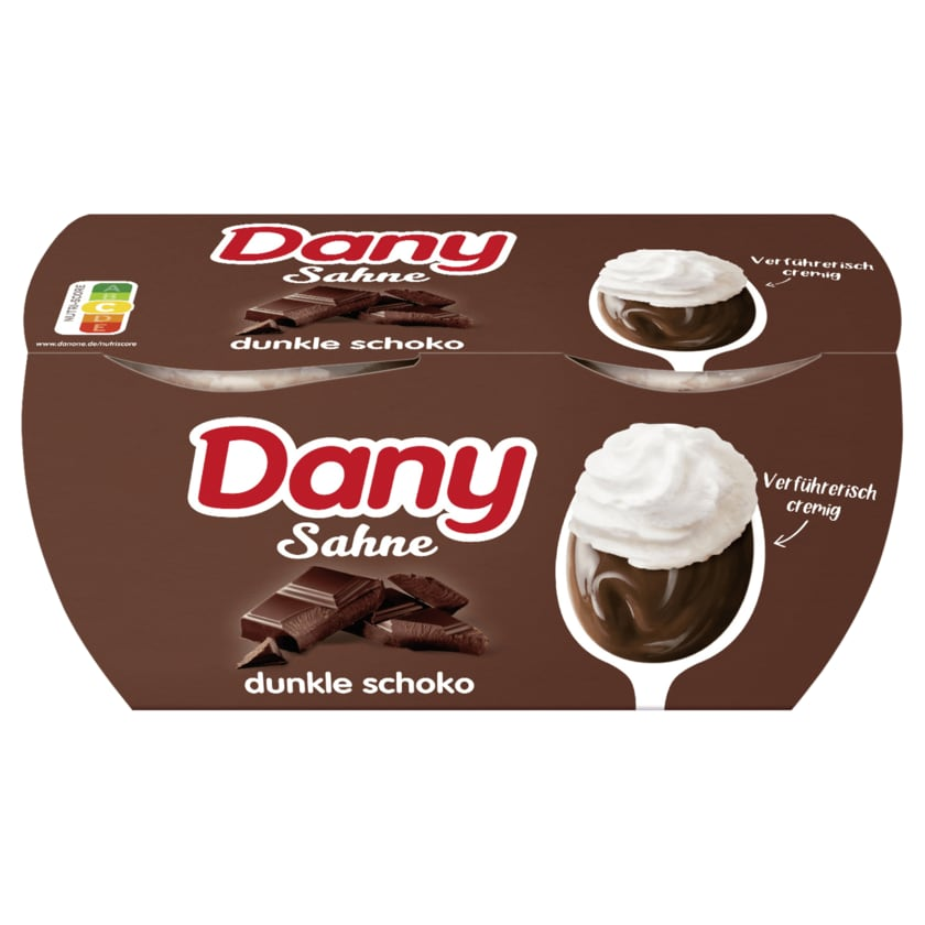 Danone Dany Sahne dunkle Schokolade 4x115g