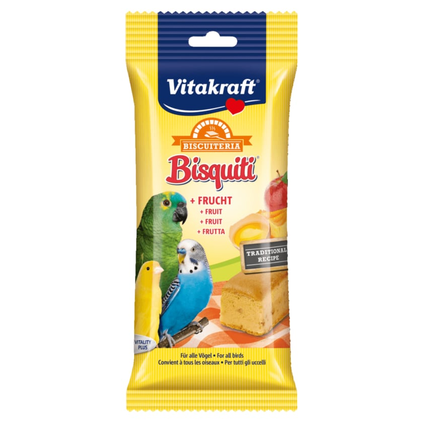 Vitakraft Bisquitti Frucht Vögel 50g