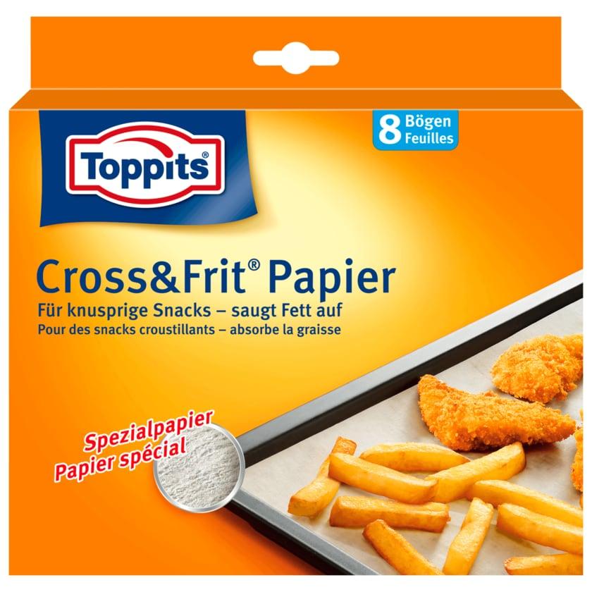 Toppits Cross + Frit Papier 8 Stück