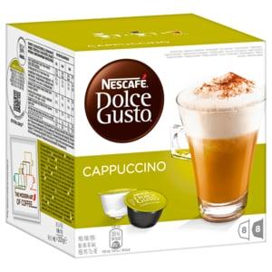 NESCAFE DOLCE GUSTO Cappuccino 8+8 Capsule 200g