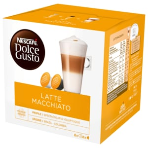 Nescafé Dolce Gusto Latte Macchiato 194g, 16 Kapseln