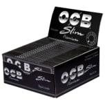 OCB Schwarz Premium long slim 50x32 Blatt