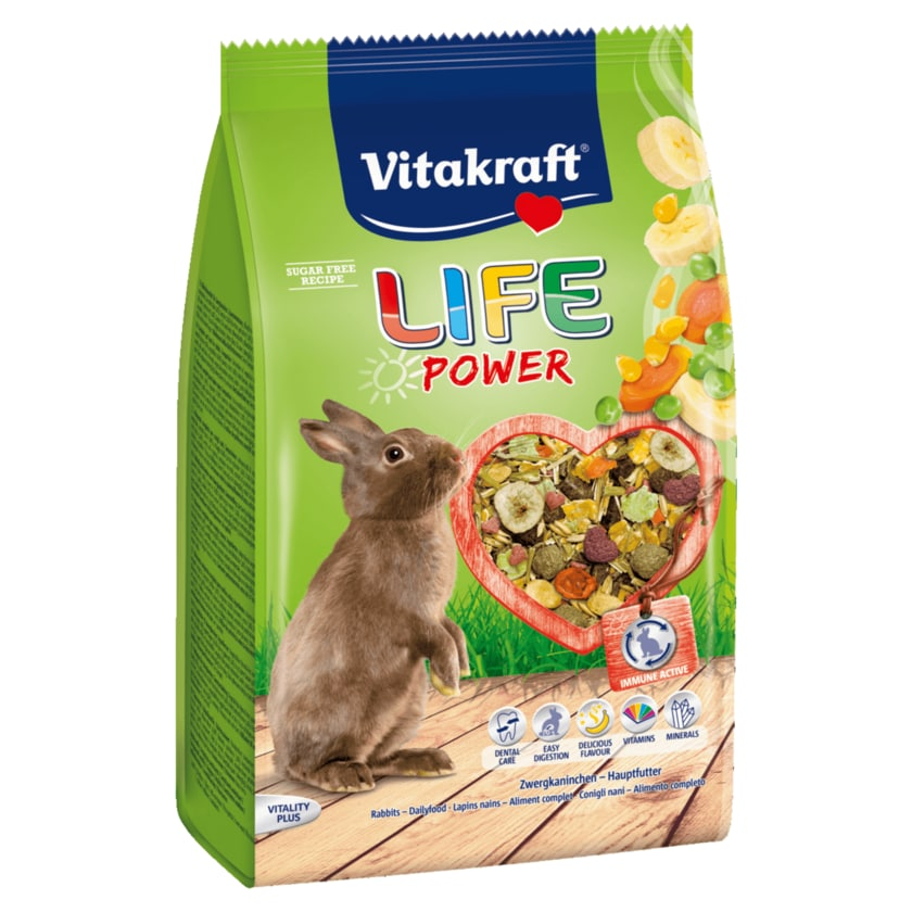 Vitakraft Life Power Zwergkaninchen 1,8kg