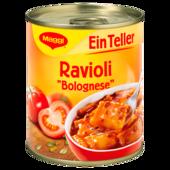 Maggi Ein Teller Ravioli Bolognese 340g