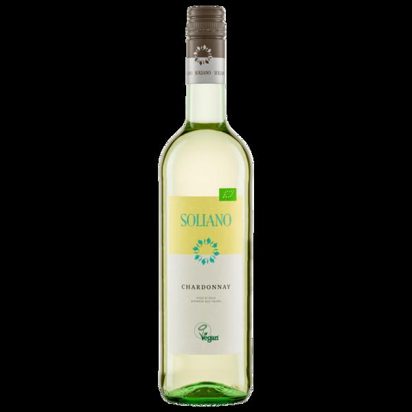 Soliano Weißwein Chardonnay Bio trocken 0,75l