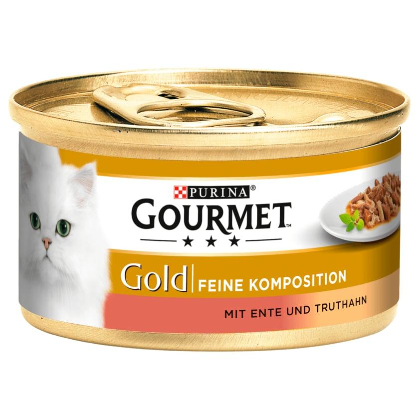 Gourmet Gold Feine Komposition mit Ente & Truthahn 85g