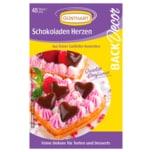 Günthart Back & Decor Schokoladen-Herzen 44g