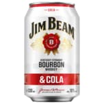 Jim Beam White & Cola 0,33l