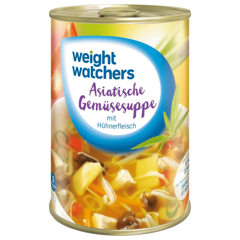 Weight Watchers Asiatische Gemüsesuppe 395ml