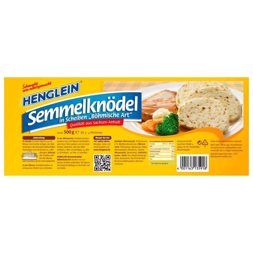 Henglein Semmelknödel in Scheiben 500g