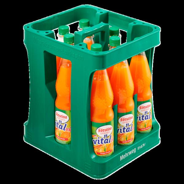 Förstina-Sprudel Vital Orange-Karotte 12x0,75l