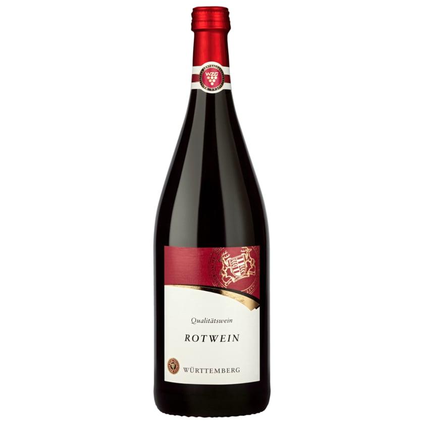 Württemberg Rotwein QbA halbtrocken 1l