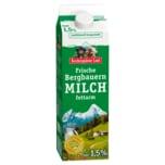 Bergbauern Frischmilch 1,5% 1l