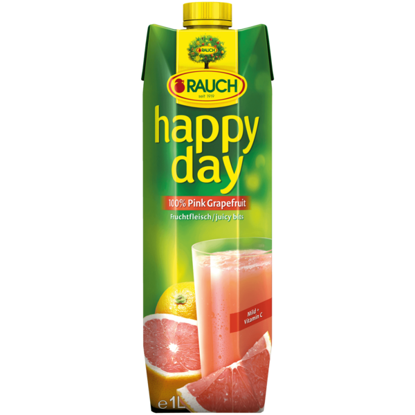 Rauch Happy Day Pink Grapefruit 1l