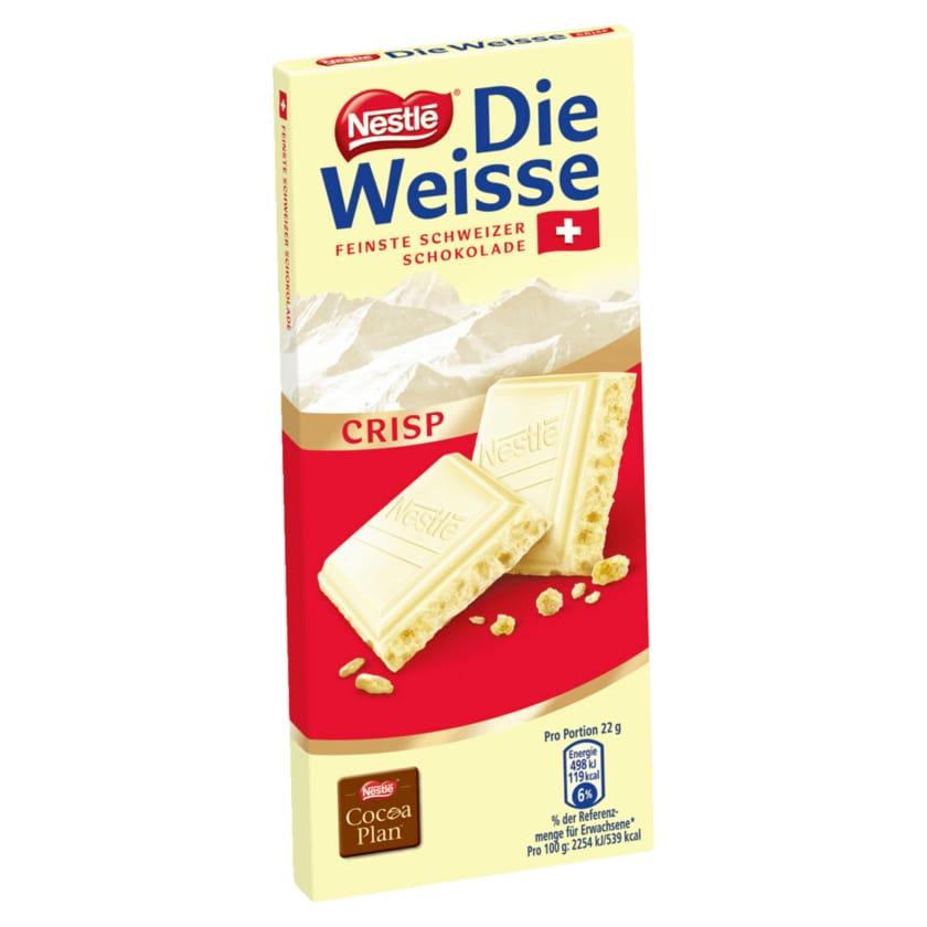 Nestlé Schokolade Die Weisse Crisp 100g