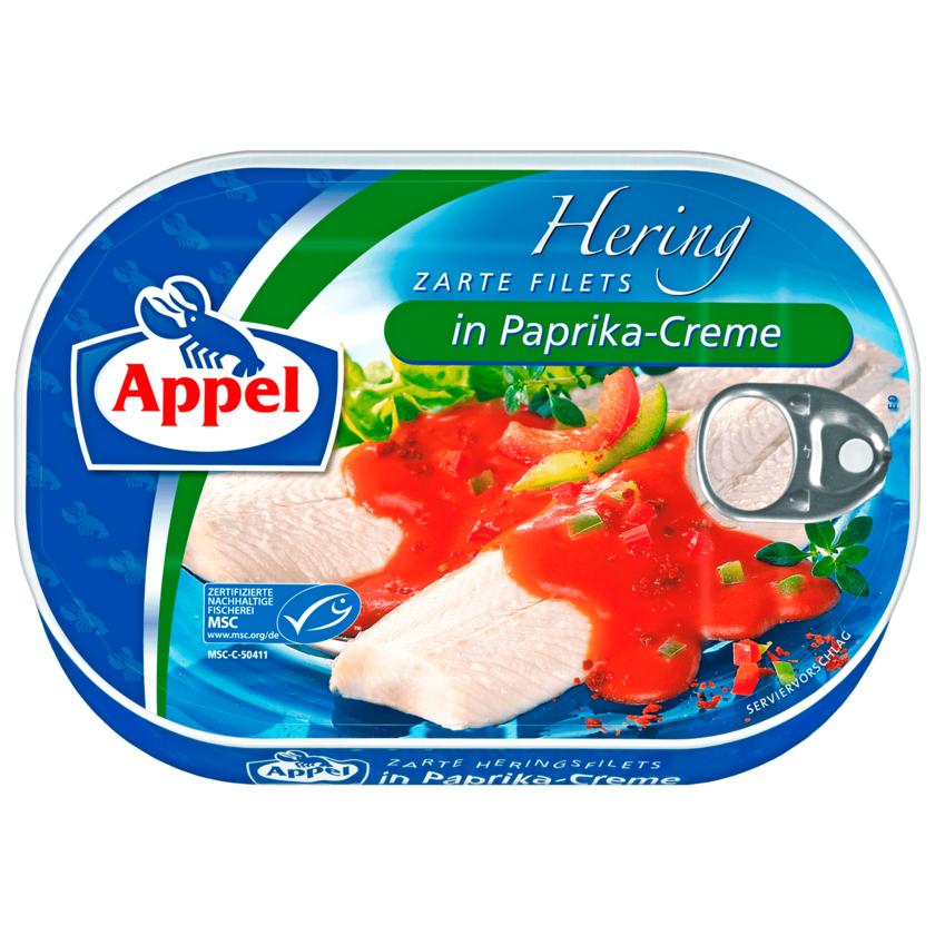 Appel MSC Heringsfilets in Paprika-Creme 200g