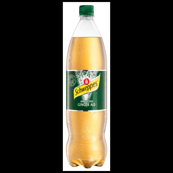Schweppes Ginger Ale 1,25l