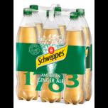 Schweppes Ginger Ale 6x1,25l