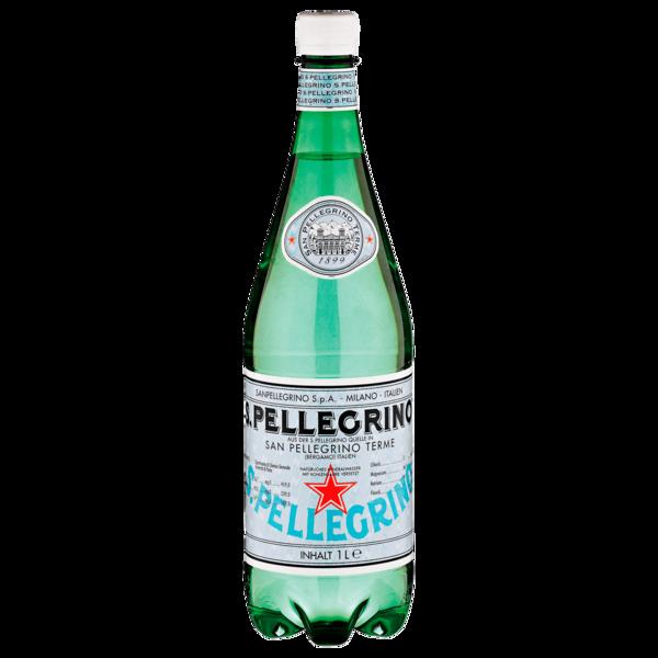 S. Pellegrino Mineralwasser Medium 1l