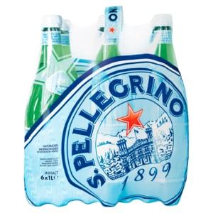San Pellegrino Mineralwasser Medium 6x1l