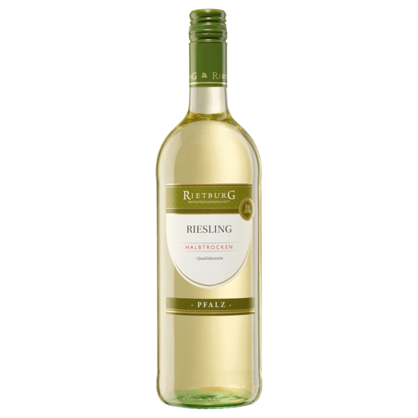 Rietburg Weißwein Riesling QbA trocken 1l