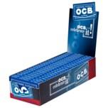 OCB Blättchen Blau mit Gummizug 25x100 Stück