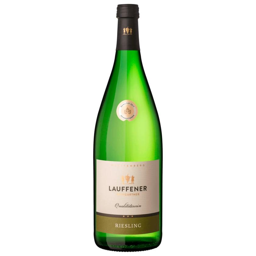 Lauffener Weißwein Riesling QbA 1l