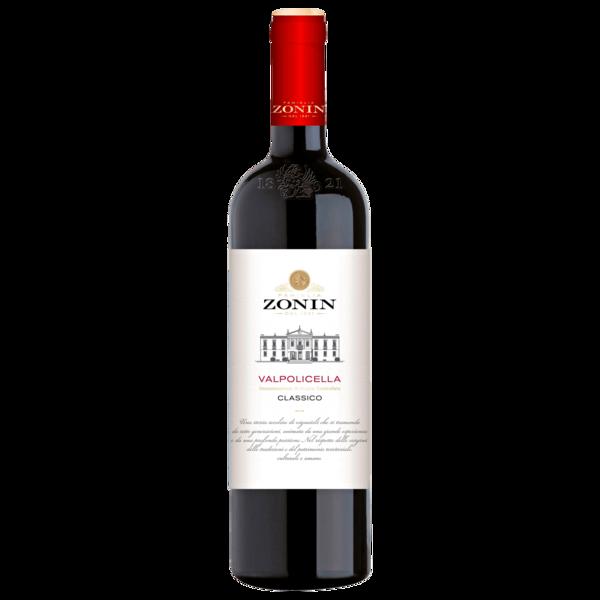 Zonin Rotwein Valpolicella Classico trocken 0,75l