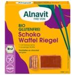 Alnavit Bio Schoko Waffelriegel glutenfrei 75g