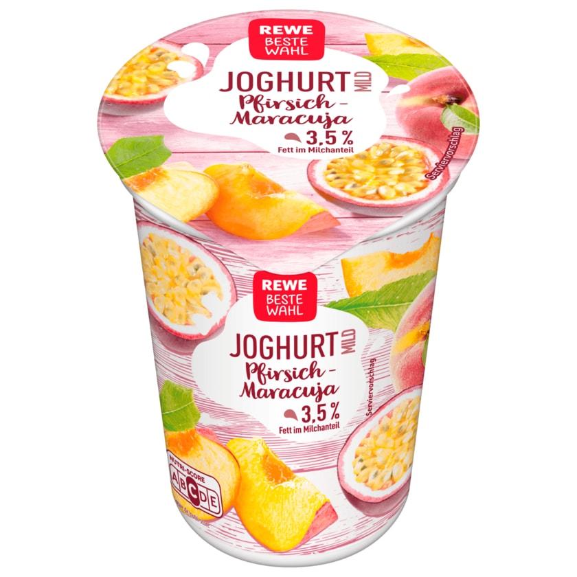 REWE Beste Wahl Joghurt mild Pfirsich-Maracuja 250g