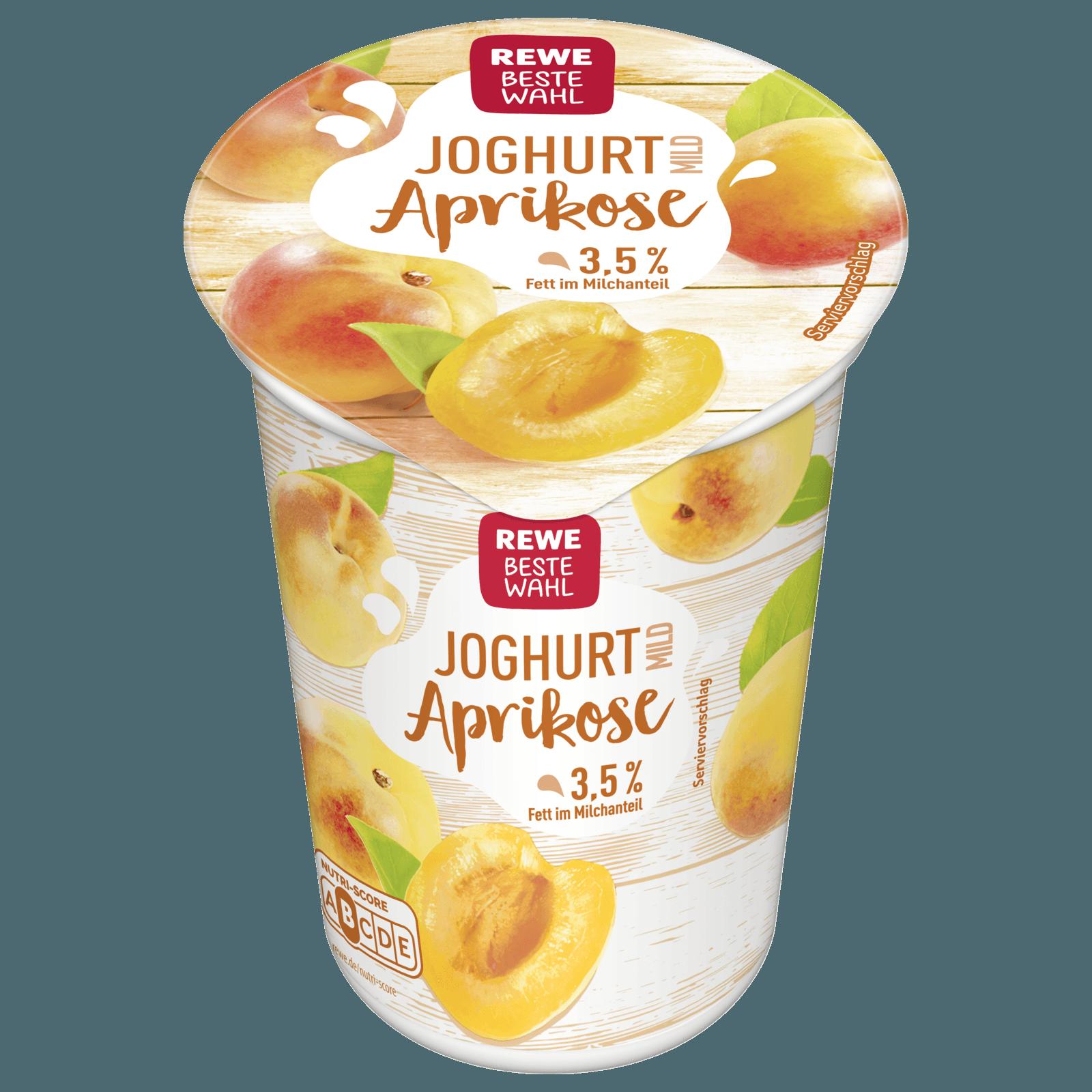 REWE Beste Wahl Joghurt mild Aprikose 250g