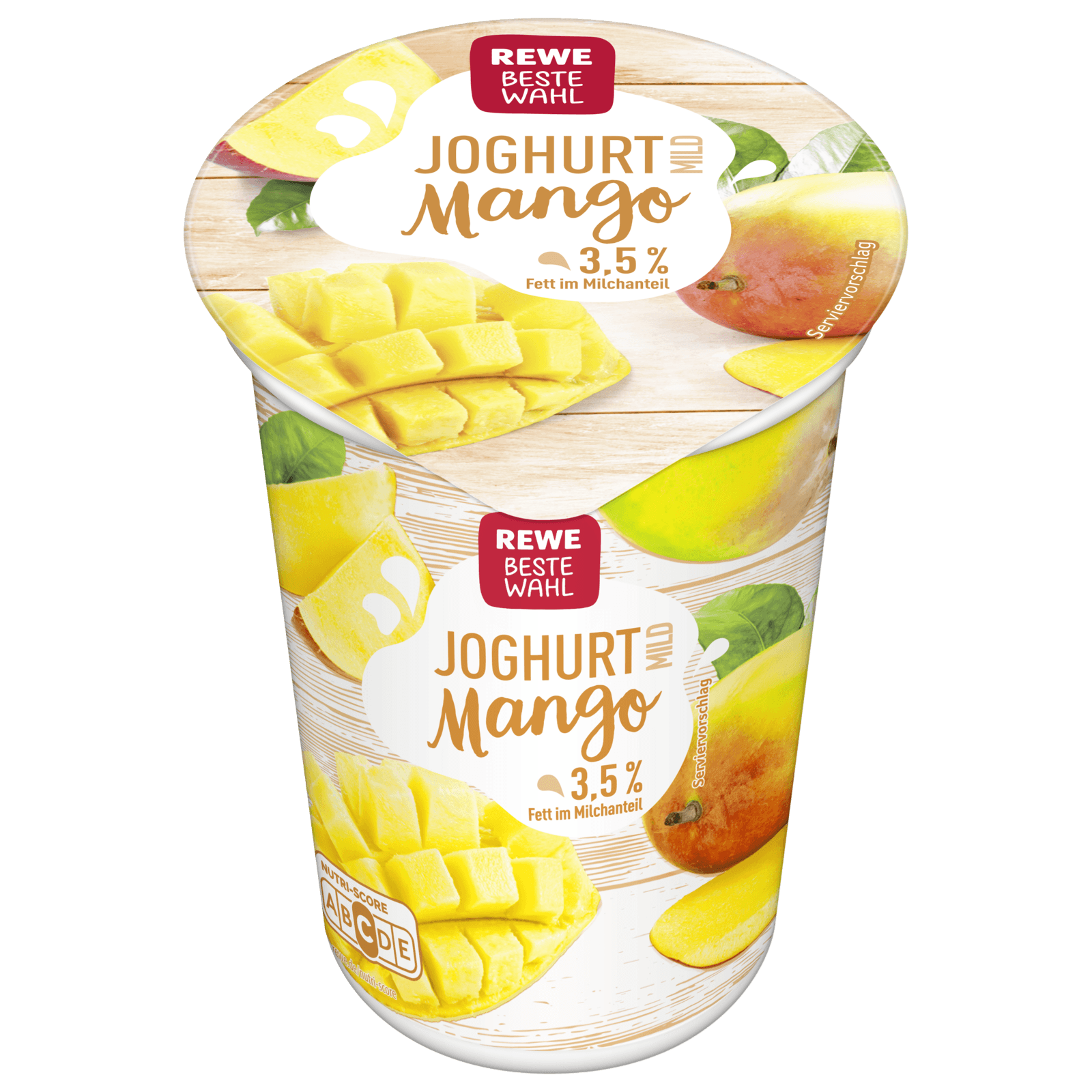 REWE Beste Wahl Joghurt mild Mango 250g